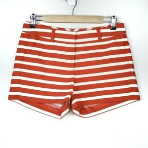 Ann Taylor Loft Stripe Shorts W/ Light Stretch